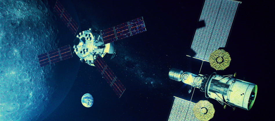 communicate in space